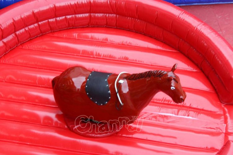 inflatable bucking bronco machine