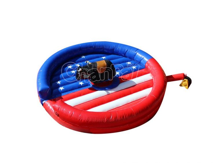 best American flag inflatable mechanical bull ride