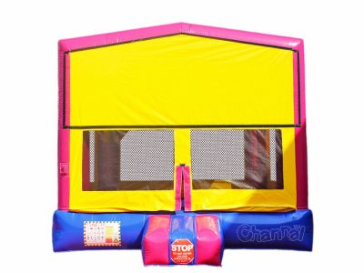 custom pink module inflatable jumper