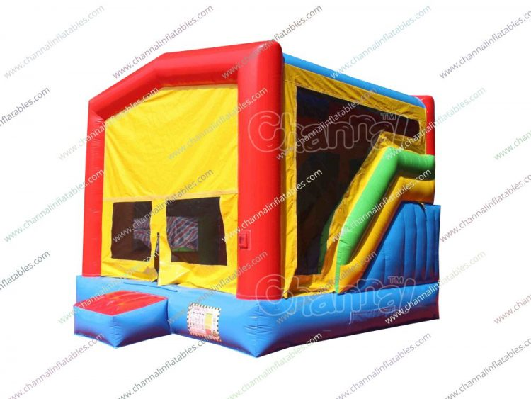 Surprising Modular 7 In 1 Combo Bounce House Channal Inflatables Home Interior And Landscaping Ferensignezvosmurscom