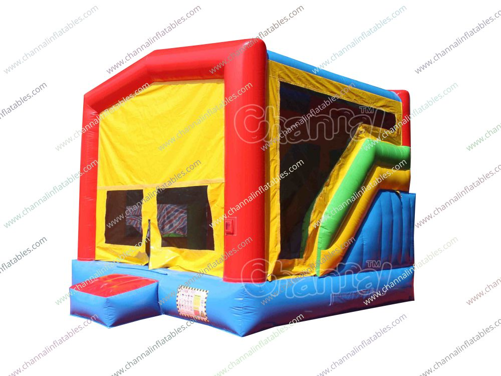 Modular 7 in 1 Combo Bounce House - Channal Inflatables