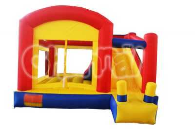 three colors inflatable nylon bouncer