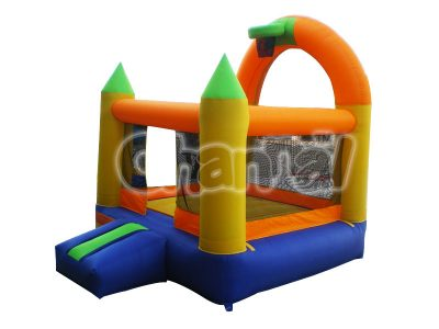 basketball inflatable nylon bouncer