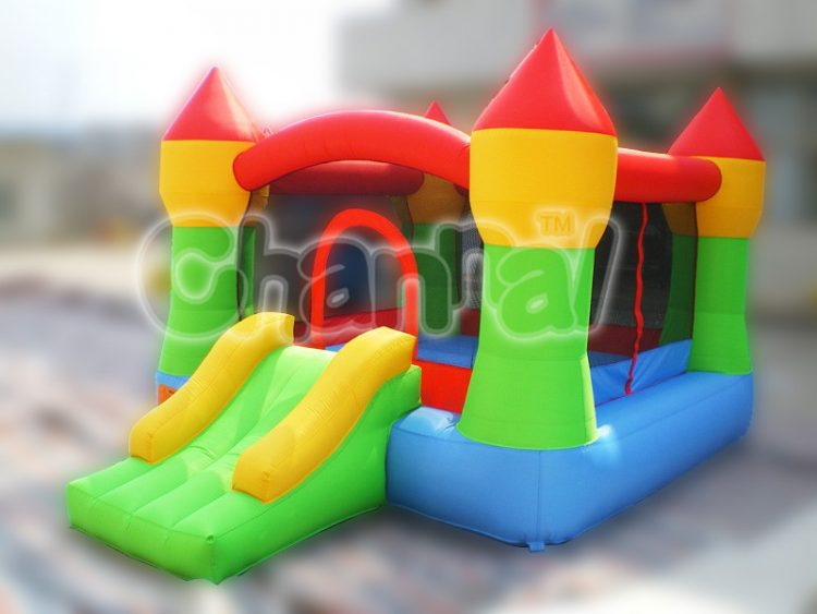 4 colors castle nylon bouncer