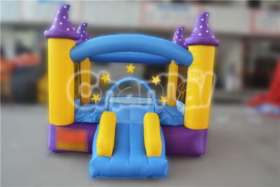 purple wizard hat nylon bouncer