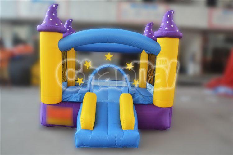 purple wizard hat nylon bouncer