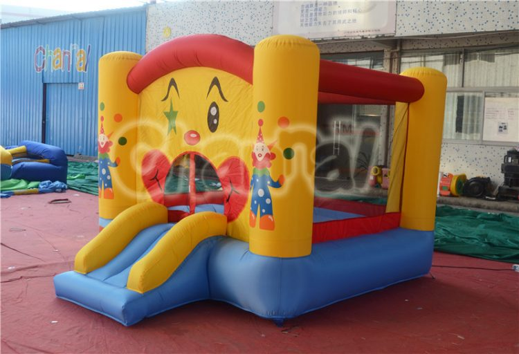 clown inflatable nylon bouncer for birthday