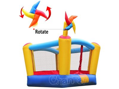 pinwheel inflatable mini bouncer