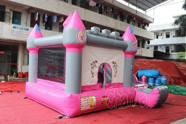 inflatable nylon princess castle combo