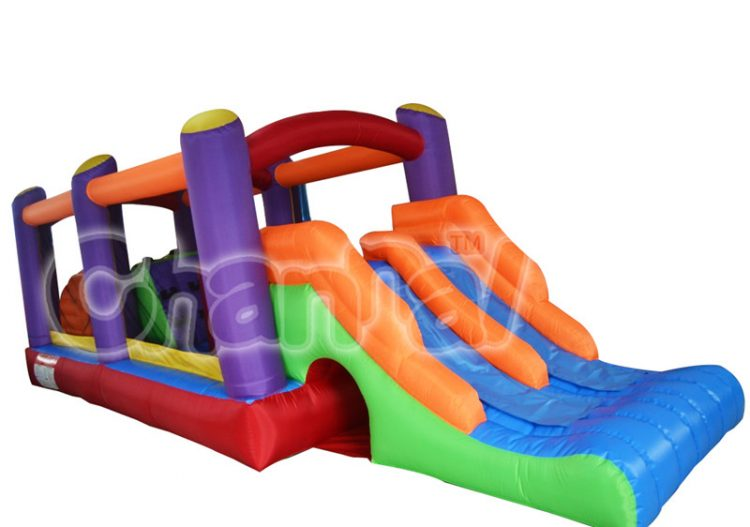 inflatable nylon obstacle combo