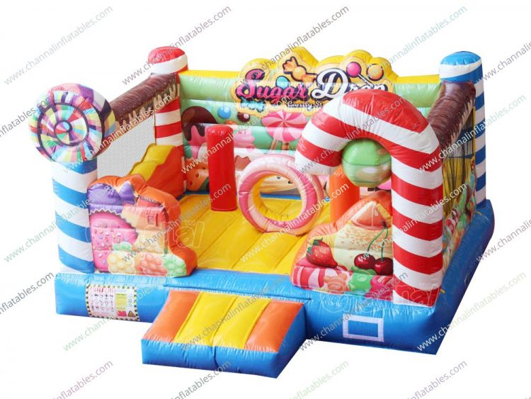 candy store bounce house