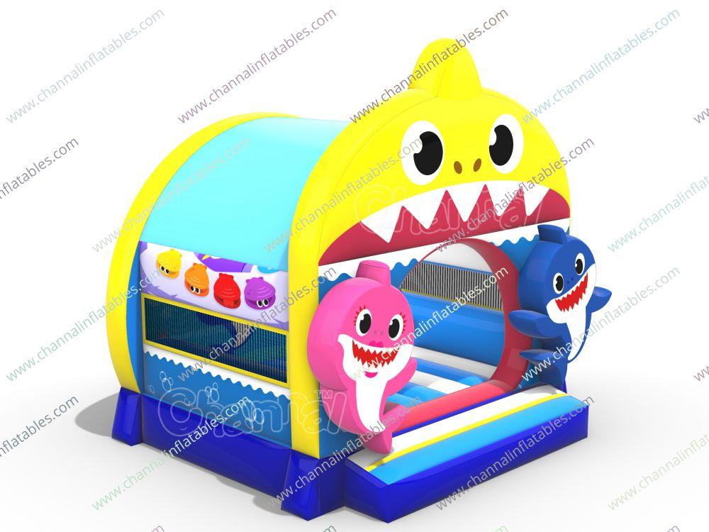 Baby Shark Bounce House Channal Inflatables