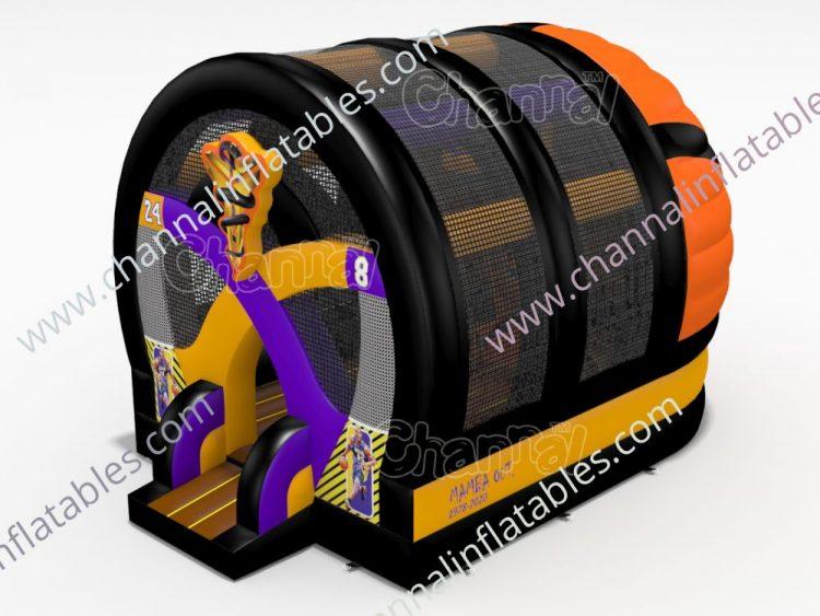 Kobe Bryant basketball bounce house