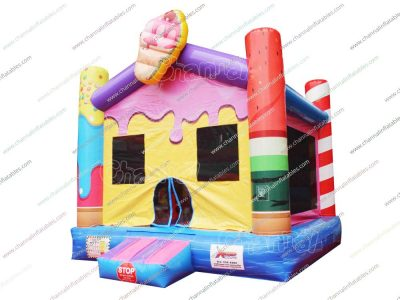 ice cream bounce house