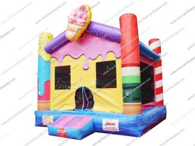ice cream bounce house