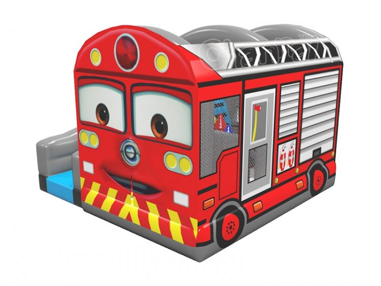 firetruck inflatable bouncer