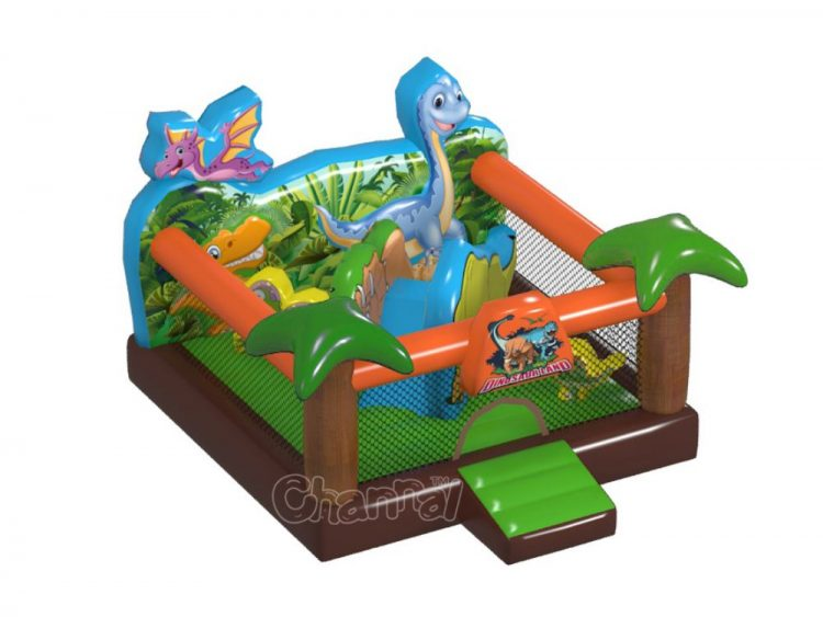 dinosaur land inflatable jumper
