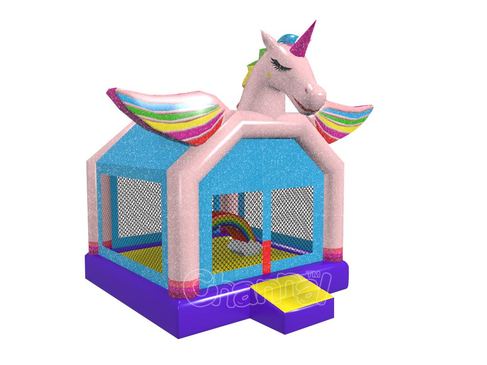 rainbow unicorn bounce house for sale