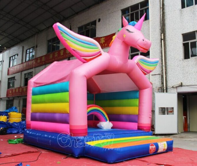unicorn inflatable bouncer for kids