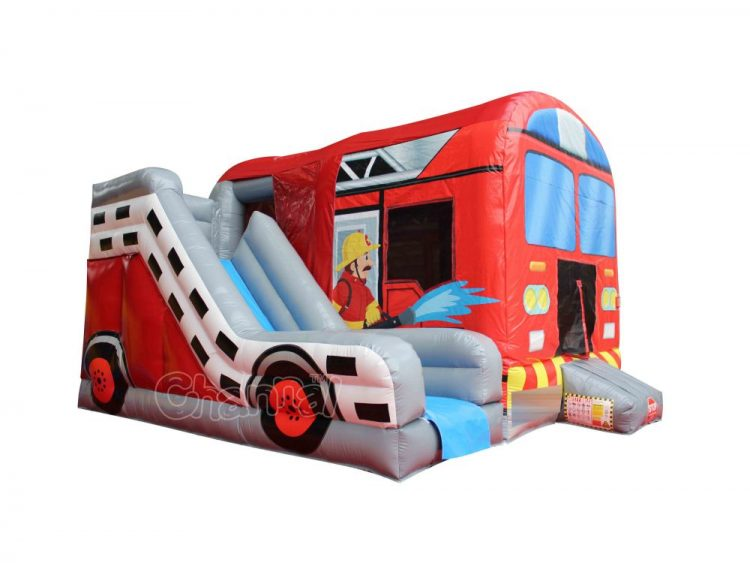 firetruck inflatable bounce house for sale