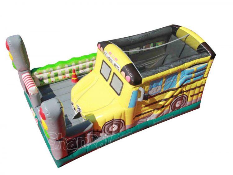 school bus combo bounce house cheap