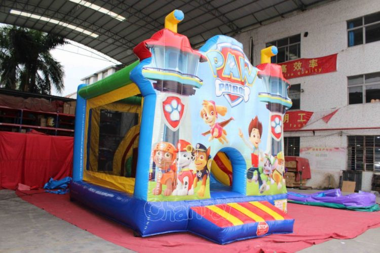paw patrol inflatable jumping castle for sale