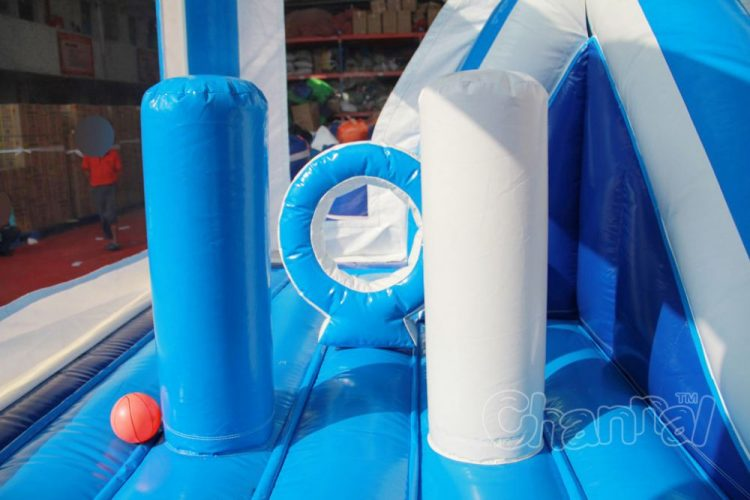 inflatable obstacles in Elsa inflatable jumper