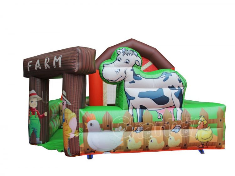 farm inflatable combo for sale