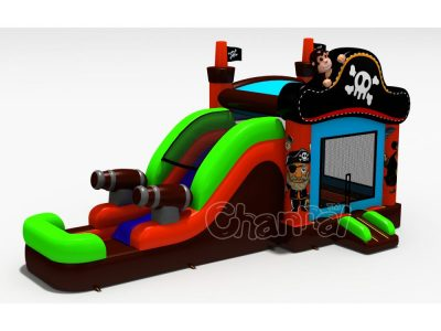 pirate water bounce house for sale