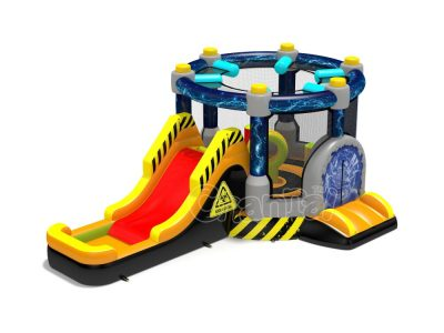 teleporter inflatable combo bounce house for sale