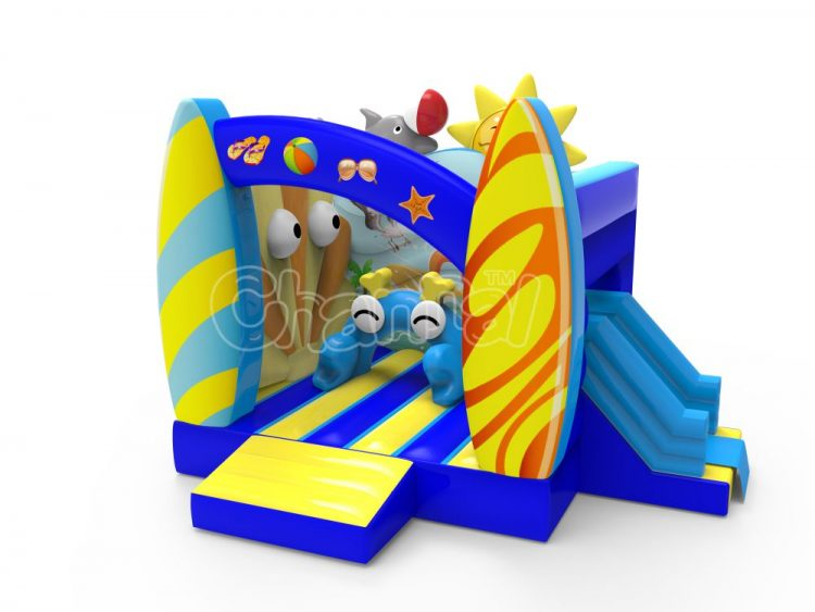 beach theme inflatable combo for sale