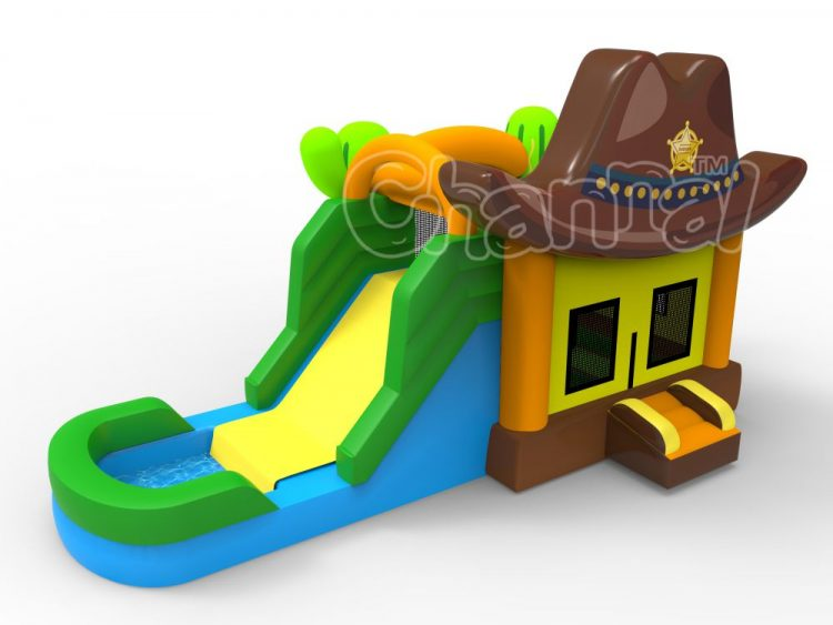 sheriff water bounce house for sale