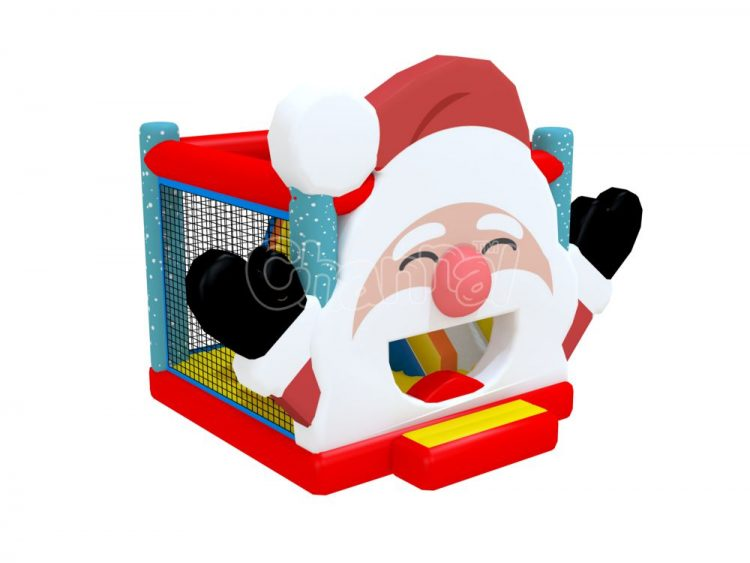 Santa Claus bounce house combo for sale