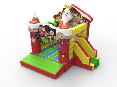 Christmas shop bouncy castle for sale