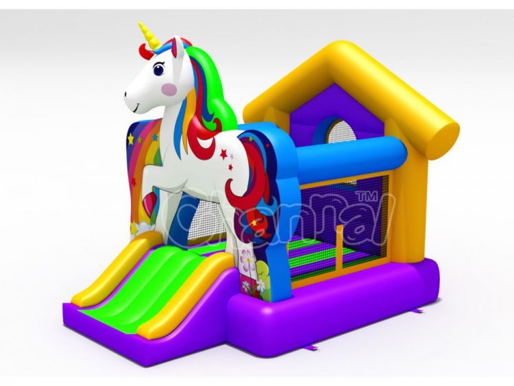 unicorn small bounce house for sale