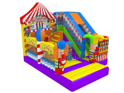 circus show inflatable combo
