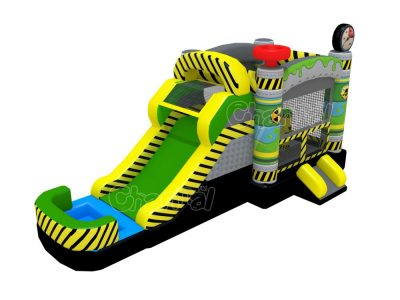 toxic water bounce house