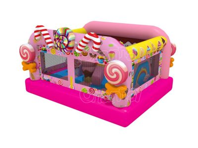candy inflatable combo