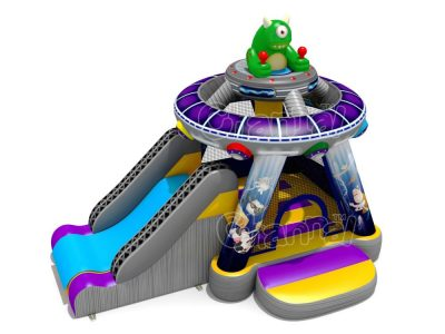 ufo inflatable bounce house