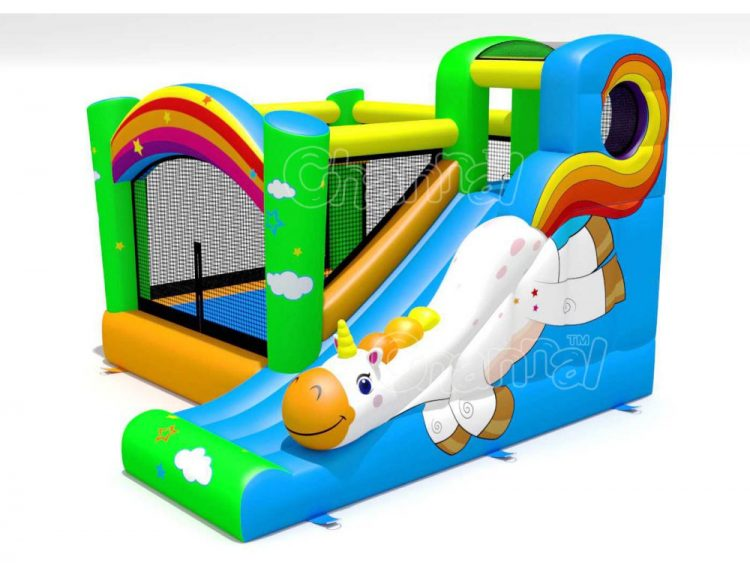 flying unicorn kids bouncer