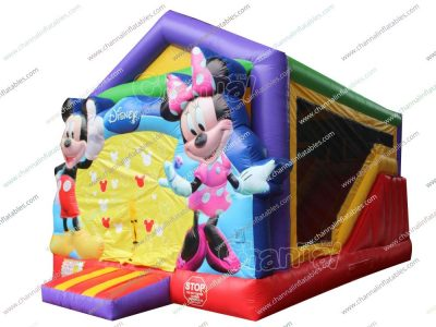 mickey minnie mouse inflatable combo