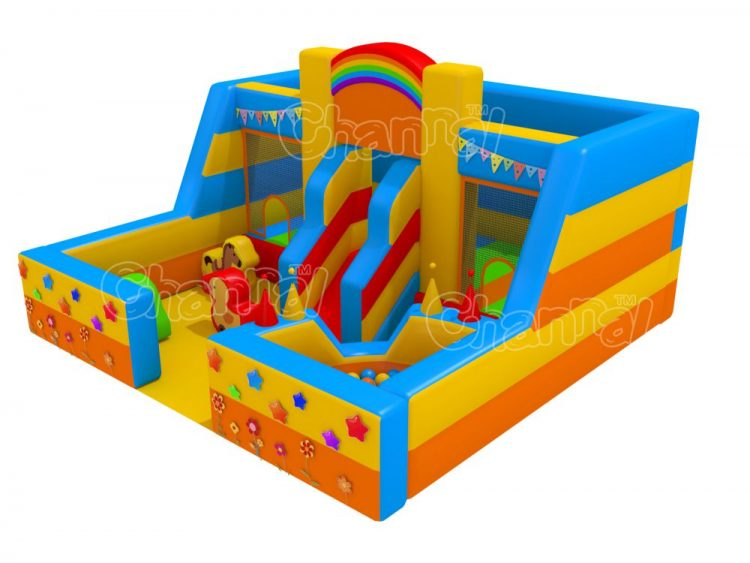 bouncy playing zone for kids
