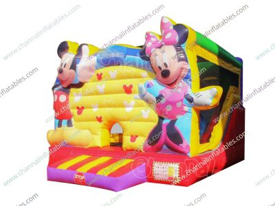 buy disney's mickey mouse clubhouse inflatable bouncer slide
