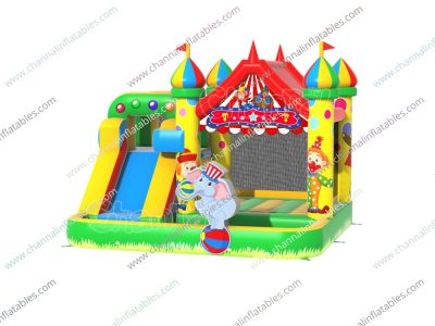circus bounce slide pool