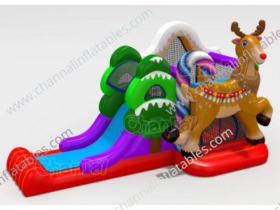 reindeer inflatable combo