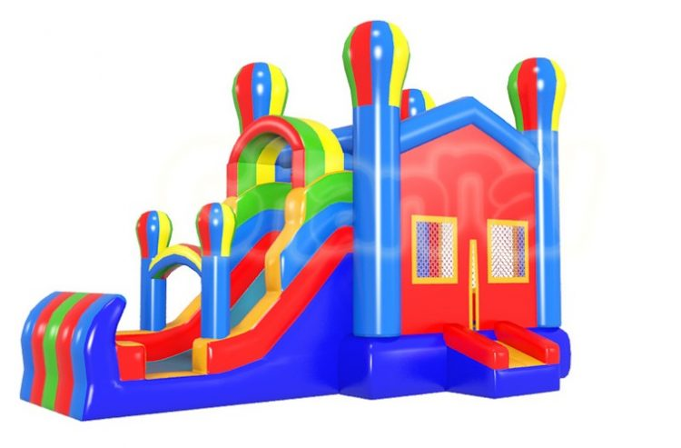 balloon castle inflatable combo