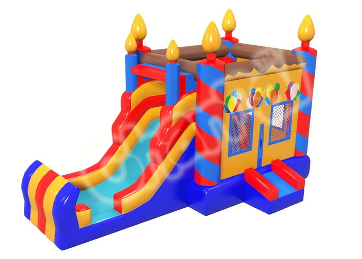birthday inflatable castle