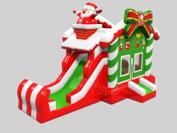Santa Claus Christmas Bounce House for sale