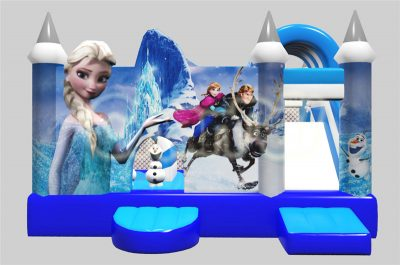 frozen movie inflatable combo