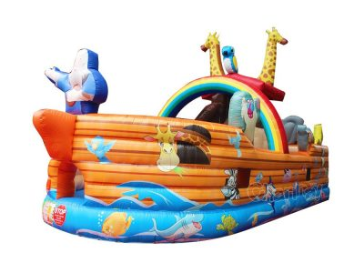 noah's ark inflatable bounce house for sale